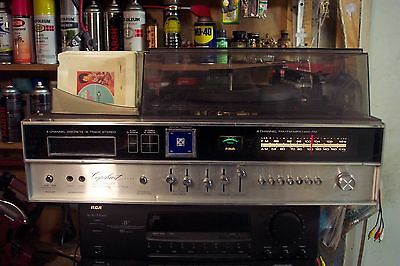 VINTAGE  CAPEHARD Record , 8-track,AM-FM Sterio Player  Model 8TPAC+ 10 8 tracks