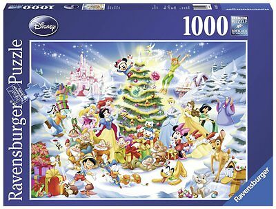 Ravensburger Brand 1000pc Puzzle - A Disney Christmas **Brand New in Shrink**