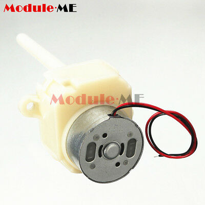DC 6V 12V Turbine Worm Gear Motor Variable Speed Shaft Slow Reduction Gear Box M