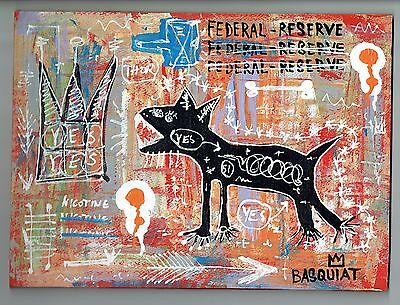 Jean Michel Basquiat Painting Federal Reserve