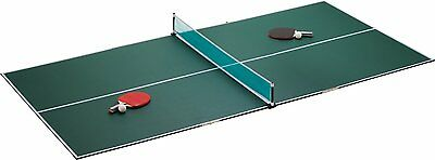 3 in 1 Portable TriFold Table Tennis Ping Pong Game Table Top Holiday Family Set