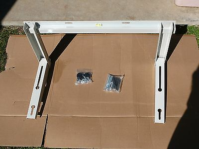Split system air conditioner wall mounting brackets
