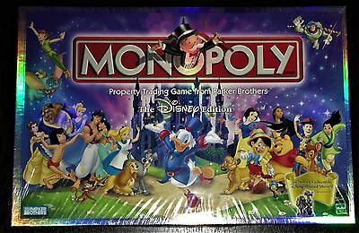 **ultra Rare** New And Sealed Disney Monopoly Game 2001