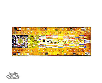 KLIMT Stocletfries Bol / 30cm Cristal AO Artis Orbis by GOEBEL Oro Decoración