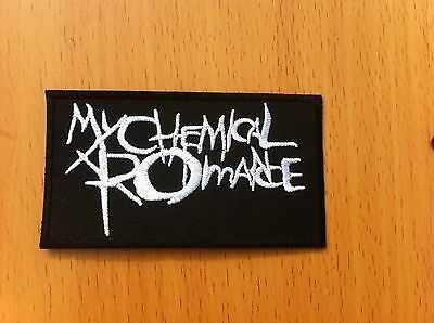 MY CHEMICAL ROMANCE Logo- Medium iron and sewing on patch