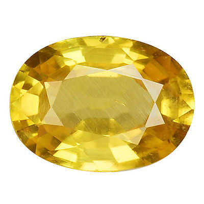 1.815Cts Gorgeous Amazing Yellow Natural Zircon Oval Loose Gemstones