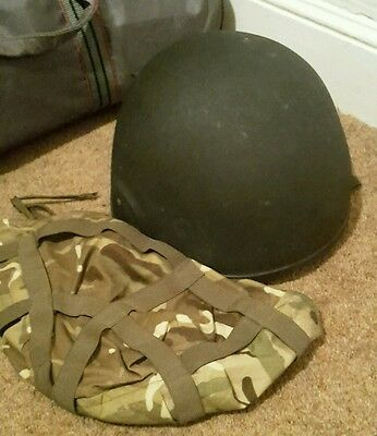 British Army Mk6a Helmet with Cover