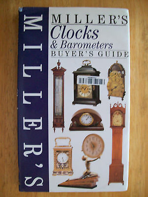 VINTAGE CLOCKS PRICE GUIDE COLLECTOR'S BOOK Mantel Wall shelf + BAROMETER too
