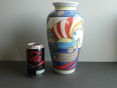 Poole Pottery Swanage Viking Purbeck Vase
