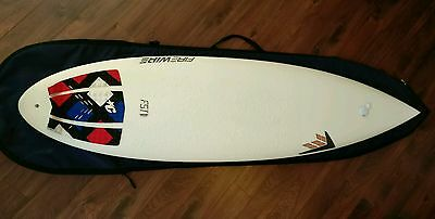 Firewire Unibrow 6 8 epoxy surfboard 42 litres immaculate. £300 off RRP!