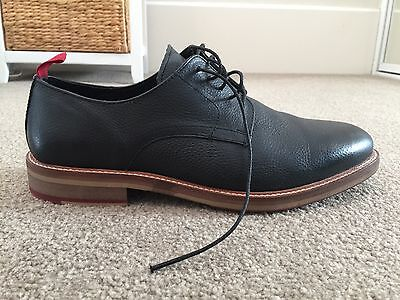 ASOS Black Leather Derby Lace Up Shoes