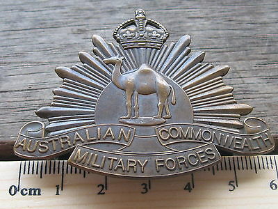 Australian Army Camel Corps Rising Sun hat badge
