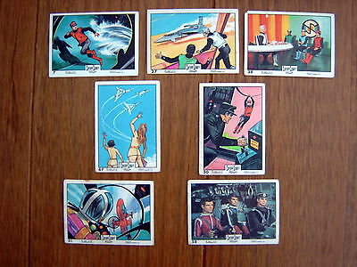 Anglo Confectionery Captain Scarlet  ( 1967 ) Cards   X  7