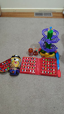 Mighty Beanz collection and accessories