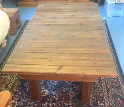 Timber Coffee Table- Solid Oversized