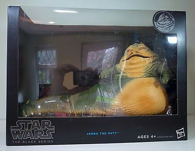 "Star Wars Black Series 6"" Scale Jabba the Hutt Action Figure NEW in box SEALED"