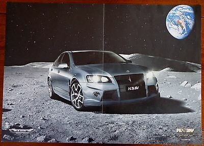 Holden Special Vehicles HSV Poster/Advertising brochure