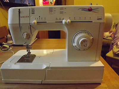 Singer Model 5810c  Free arm ZigZag Electric Sewing Machine Used