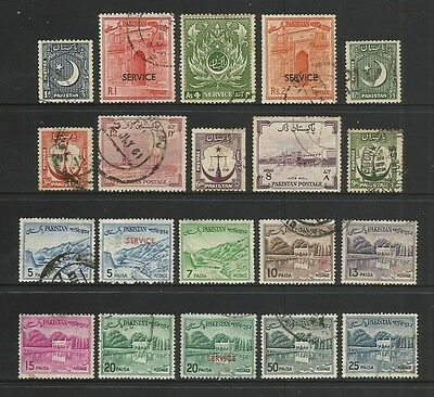 PAKISTAN - mixed collection No.5, incl Service opt