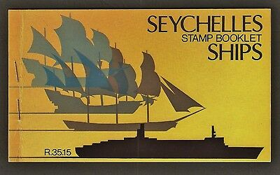 Seychelles Complete Stamp Booklet 1981 - Ships
