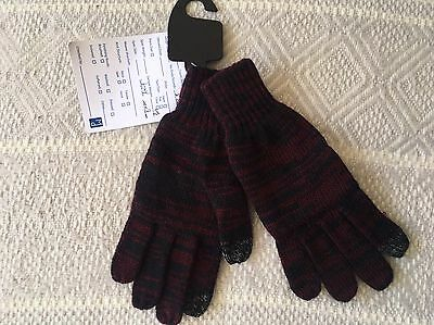 Boys 6-10y Touch Tech Knitted Gloves