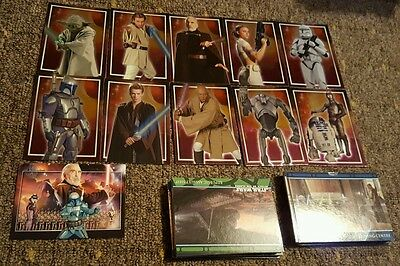 Star wars attack of the clones topps cards