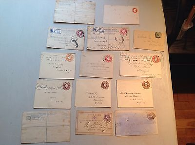 G.b. Early Registered Covers / Letters/ Stationery......#408