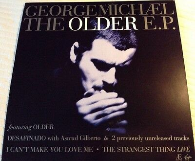 """George Michael Promo 12"""" X 12"""" Poster, Older Ep Rare Record Store Display"""