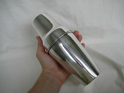 Old Art Deco German MWF Silver Plated Cocktail Shaker