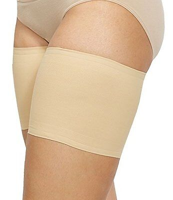 Bandelettes Elastic Anti Chafing Thigh Bands*Prevent Thigh Chafing* Beige Unisex