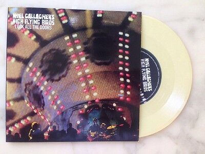 "Noel Gallagher  High Flying Birds - Lock All The Doors- 45 Giri 7"" Nuovo"