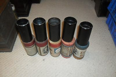 5 Very good/excellent 2 minute wax Phonograph Cylinders with various boxes