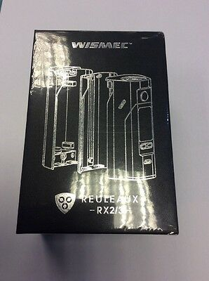 Authentic WISMEC  Reuleaux RX2/3 Red And Black New And Boxed