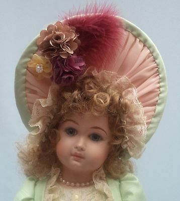 """A French Style  Dress Jacket And Hat For A 20""""/ 21"""" Reproduction Or Antique Doll"""