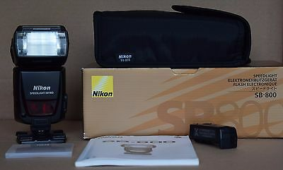 Nikon SB800 Speedlight Flash - Boxed SB-800