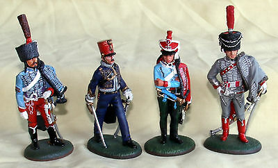 del prado napoleon at war white metal figurines painted french cavalry