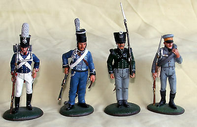 del prado napoleon at war white metal figurines painted prussian