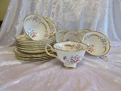 New Chelsea - SIX TRIOS  - Roses and Swags - 4672A - Ascot