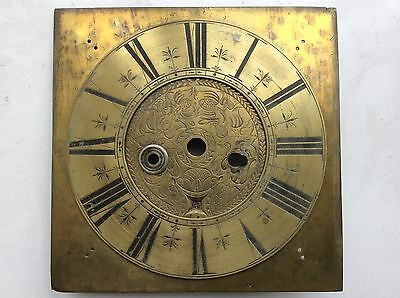 Early 18th century clock dial