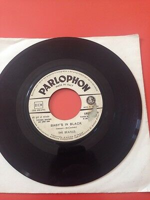 The Beatles  No Reply/Baby's In Black QMSP16370 Raro Promo 45 Giri 7' JB