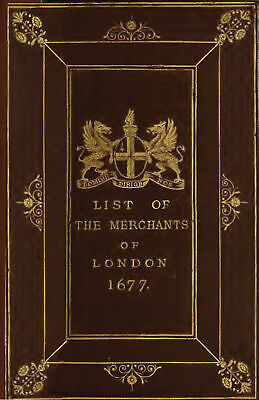 London Directory Of 1677.