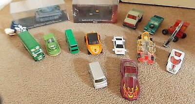 collection 15 x diecast models job lot boxed & unboxed