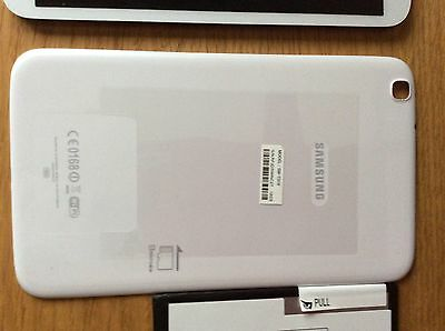 Samsung Galaxy Tab 3 SM T310 White Back Cover And Edging