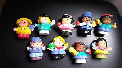 lot de personnages little people fisher price