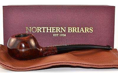 """NORTHERN BRIARS """" Regal """" Gr. 3 Pipe - Handmade in Engaland '15 - NEW & BOXED"""