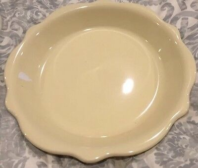 Southern Living at Home Pie Plate Dish Hospitality Collection Butter Yellow