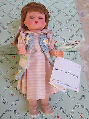 "New in Box - Madame Alexander GIFT FROM GRANDMA 8"" Doll - Style # 38195"