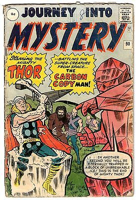 Journey Into Mystery Thor #90. Vol1. Mar 1963. Stan Lee, Jack Kirby. GD Pence