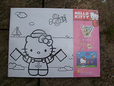 From Sanrio Hello Kitty Canvas Art Set