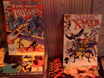 181 Different Marvel Comics Titles Include X Men X Factor New Mutants Wolverine